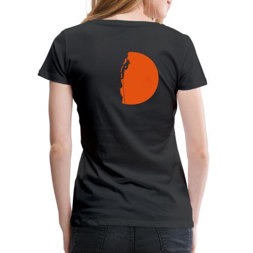 Klettererin Pullover & Hoodies - Frauen Premium T-Shirt