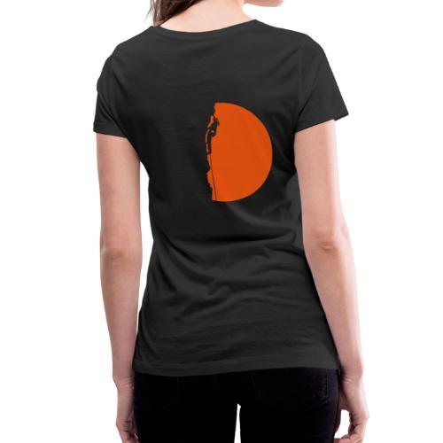 Klettererin Pullover & Hoodies - Frauen Bio-T-Shirt mit V-Ausschnitt von Stanley & Stella