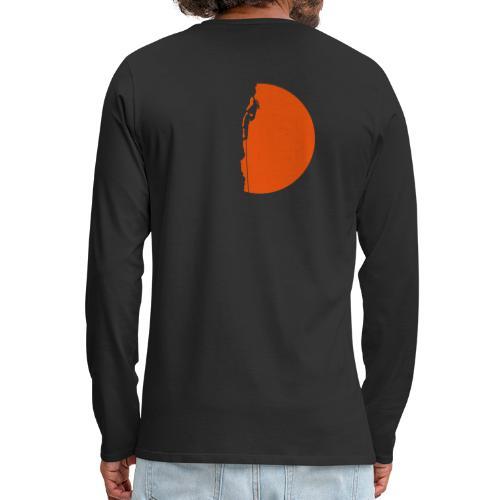 Klettererin Pullover & Hoodies - Männer Premium Langarmshirt