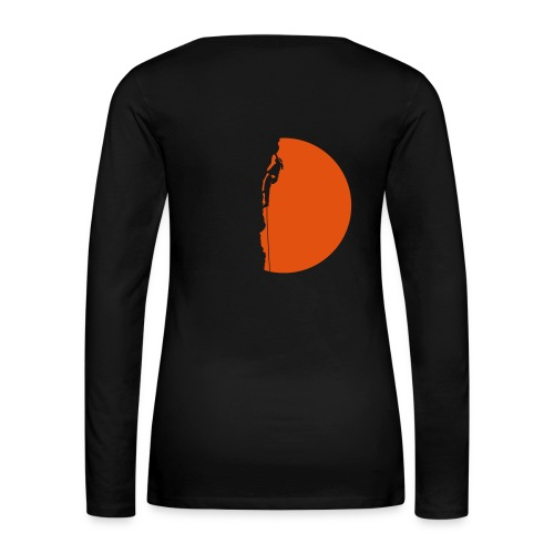 Klettererin Pullover & Hoodies - Frauen Premium Langarmshirt