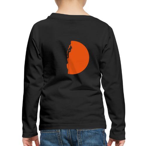 Klettererin Pullover & Hoodies - Kinder Premium Langarmshirt