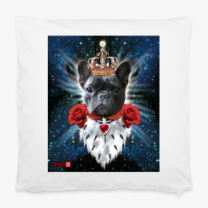 French Bulldog Französische Bulldogge King iPhone Case - Kissenbezug 40 x 40 cm