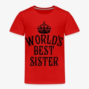 World's best Sister Crown Family Frauen T-Shirt - Kinder Premium T-Shirt