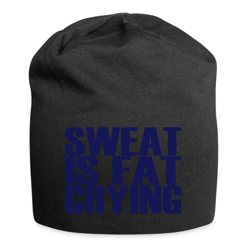 Sweat is fat crying - Jersey-Beanie