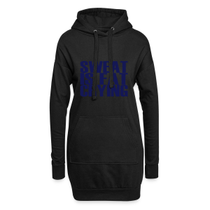 Sweat is fat crying - Hoodie-Kleid