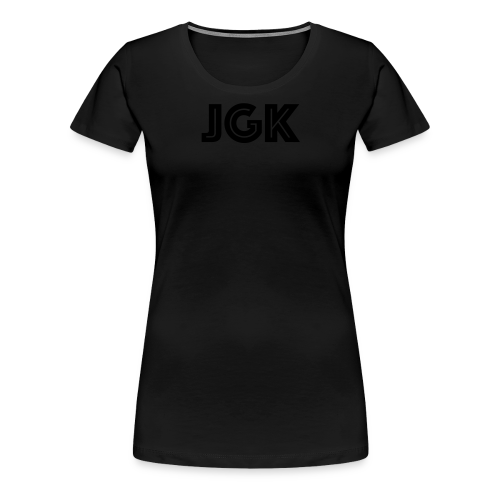JGK dame V normal - Premium T-skjorte for kvinner