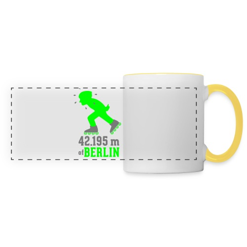 Berliner Inlineskating Marathon 42.195 m - Panoramatasse