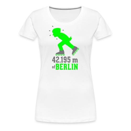 Berliner Inlineskating Marathon 42.195 m - Frauen Premium T-Shirt