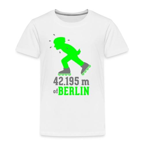 Berliner Inlineskating Marathon 42.195 m - Kinder Premium T-Shirt