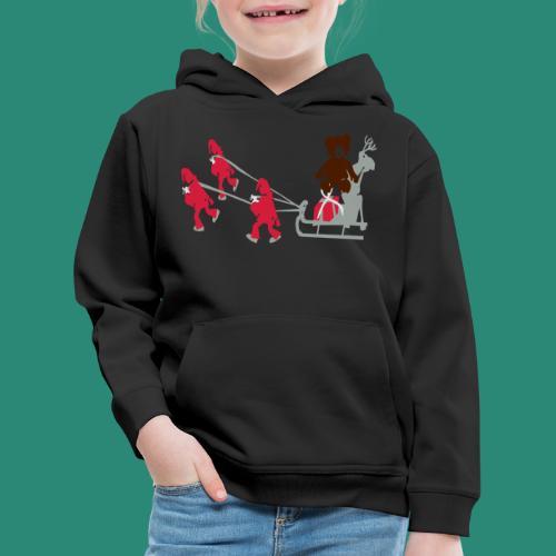 Frauen T-Shirt anthrazit Wichtelzeit - Kinder Premium Hoodie