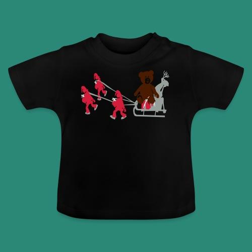 Frauen T-Shirt anthrazit Wichtelzeit - Baby T-Shirt