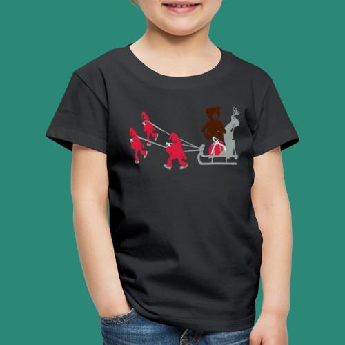 Frauen T-Shirt anthrazit Wichtelzeit - Kinder Premium T-Shirt