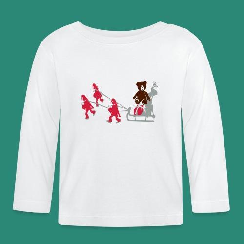 Frauen T-Shirt anthrazit Wichtelzeit - Baby Langarmshirt