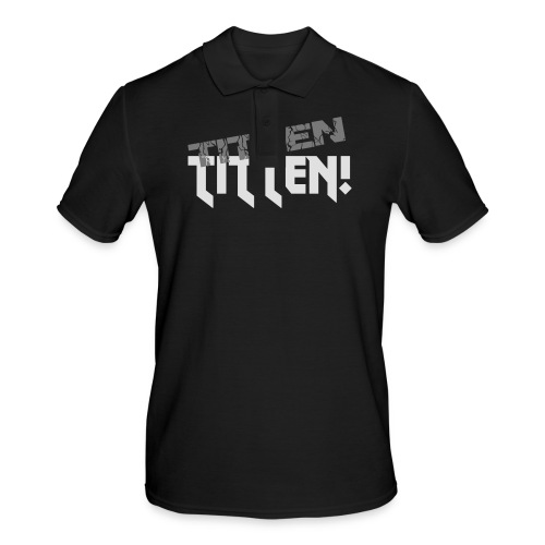 T-Shirt mit V-Ausschnitt - Männer Poloshirt