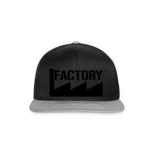 Factory t-shirt vrouw - Snapback cap