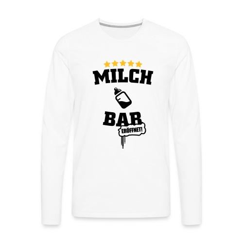 Milch Bar eröffnet deluxe T-Shirts - Männer Premium Langarmshirt