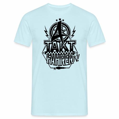 4-Takt-Fahrerin / Viertaktfahrerin - Men's T-Shirt