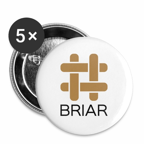 Briar T-Shirt (Female) - Buttons large 2.2''/56 mm (5-pack)
