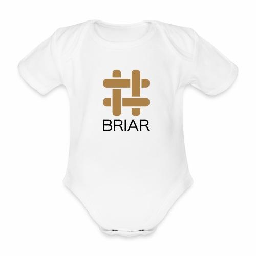 Briar T-Shirt (Female) - Organic Short-sleeved Baby Bodysuit
