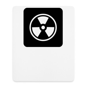 Black Tote bag with Radioactive design - Mouse Pad (vertical)