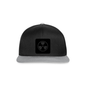 Black Tote bag with Radioactive design - Snapback Cap