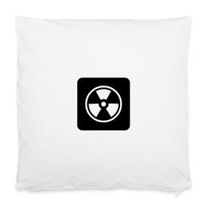 Black Tote bag with Radioactive design - Pillowcase 40 x 40 cm