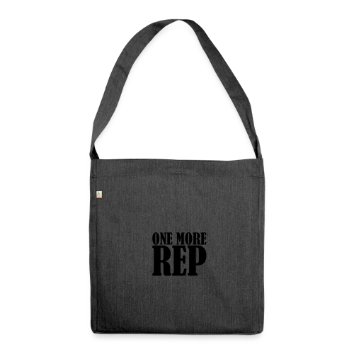 One More Rep - Schultertasche aus Recycling-Material