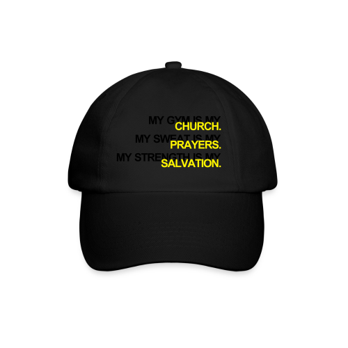 Gym is my Church - Baseballkappe