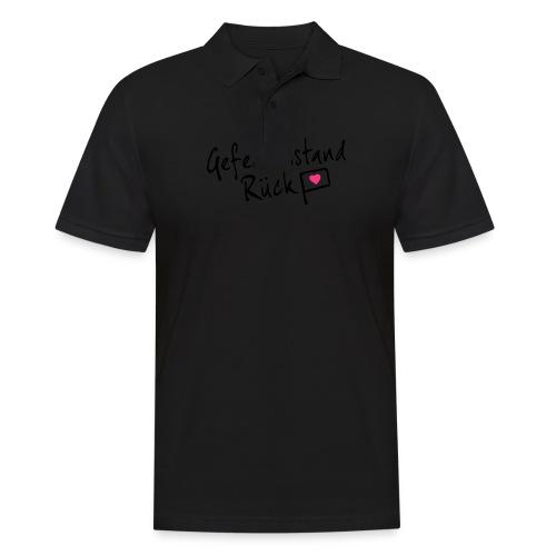 Gefechtsstand Rück - Männer Poloshirt