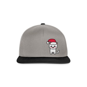 Kawaii Kitteh Christmas - Snapback Cap