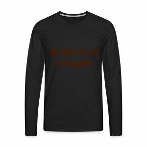 De head on me Im banjoed - Men's Premium Longsleeve Shirt