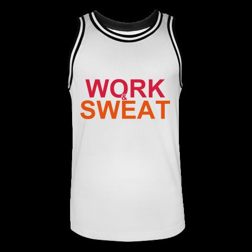 Work &  Sweat - Männer Basketball-Trikot