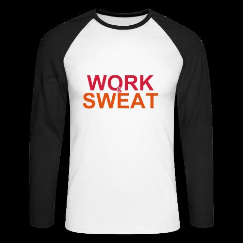 Work &  Sweat - Männer Baseballshirt langarm