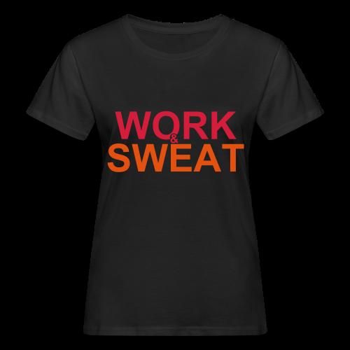 Work &  Sweat - Frauen Bio-T-Shirt