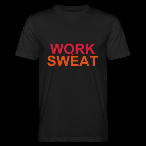 Work &  Sweat - Männer Bio-T-Shirt