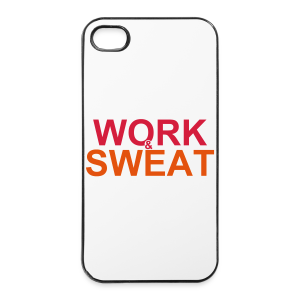 Work &  Sweat - iPhone 4/4s Hard Case