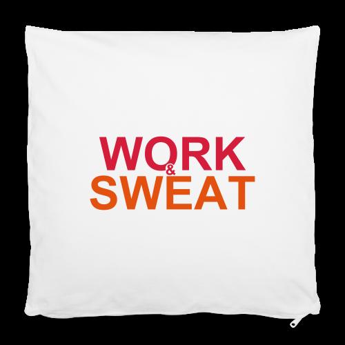 Work &  Sweat - Kissenbezug 40 x 40 cm