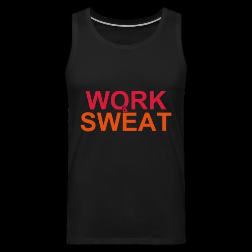 Work &  Sweat - Männer Premium Tank Top