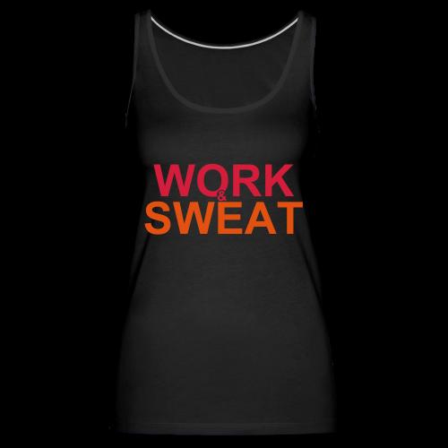 Work &  Sweat - Frauen Premium Tank Top