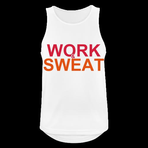 Work &  Sweat - Männer Tank Top atmungsaktiv