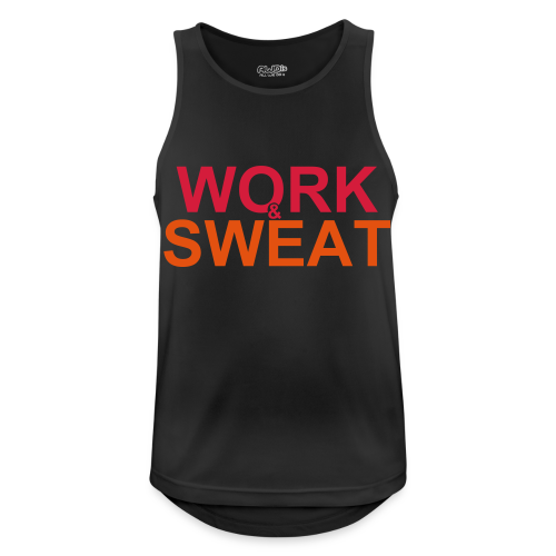 Work &  Sweat - Männer Tank Top atmungsaktiv
