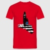 Rouge surf bzh T-shirts - T-shirt Homme