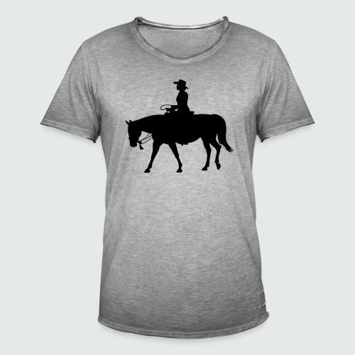 Western.Lady-Bosal - Männer Vintage T-Shirt