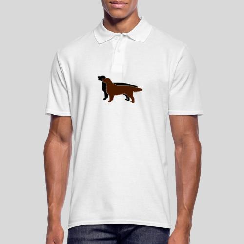 Flat Coated Retriever - Männer Poloshirt