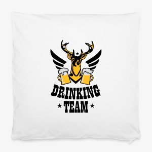 Hirsch Flügel Mass Bier Drinking Team iPhone Case - Kissenbezug 40 x 40 cm