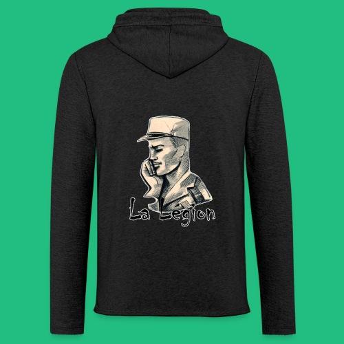 LA LEGION - Sweat-shirt à capuche léger unisexe