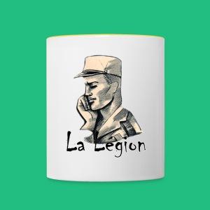 LA LEGION - Tasse bicolore