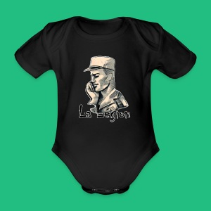 LA LEGION - Body bébé bio manches courtes