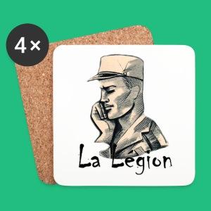 LA LEGION - Dessous de verre (lot de 4)