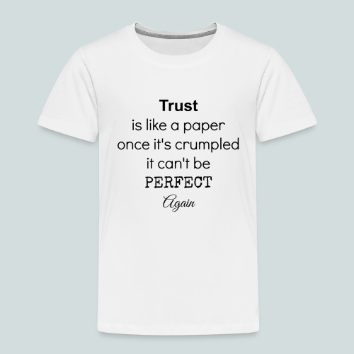 Trust - Premium-T-shirt barn
